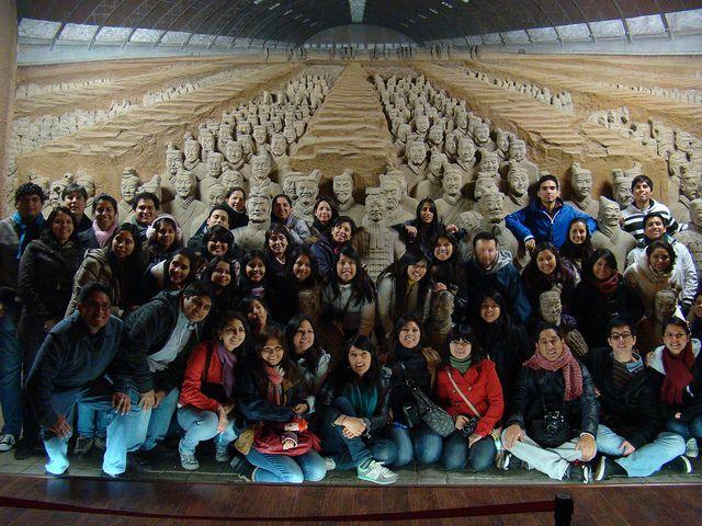 Maria Jose Fernández, de AudiovisualesUPC, viaja a China con otros alumnos de la UPC.