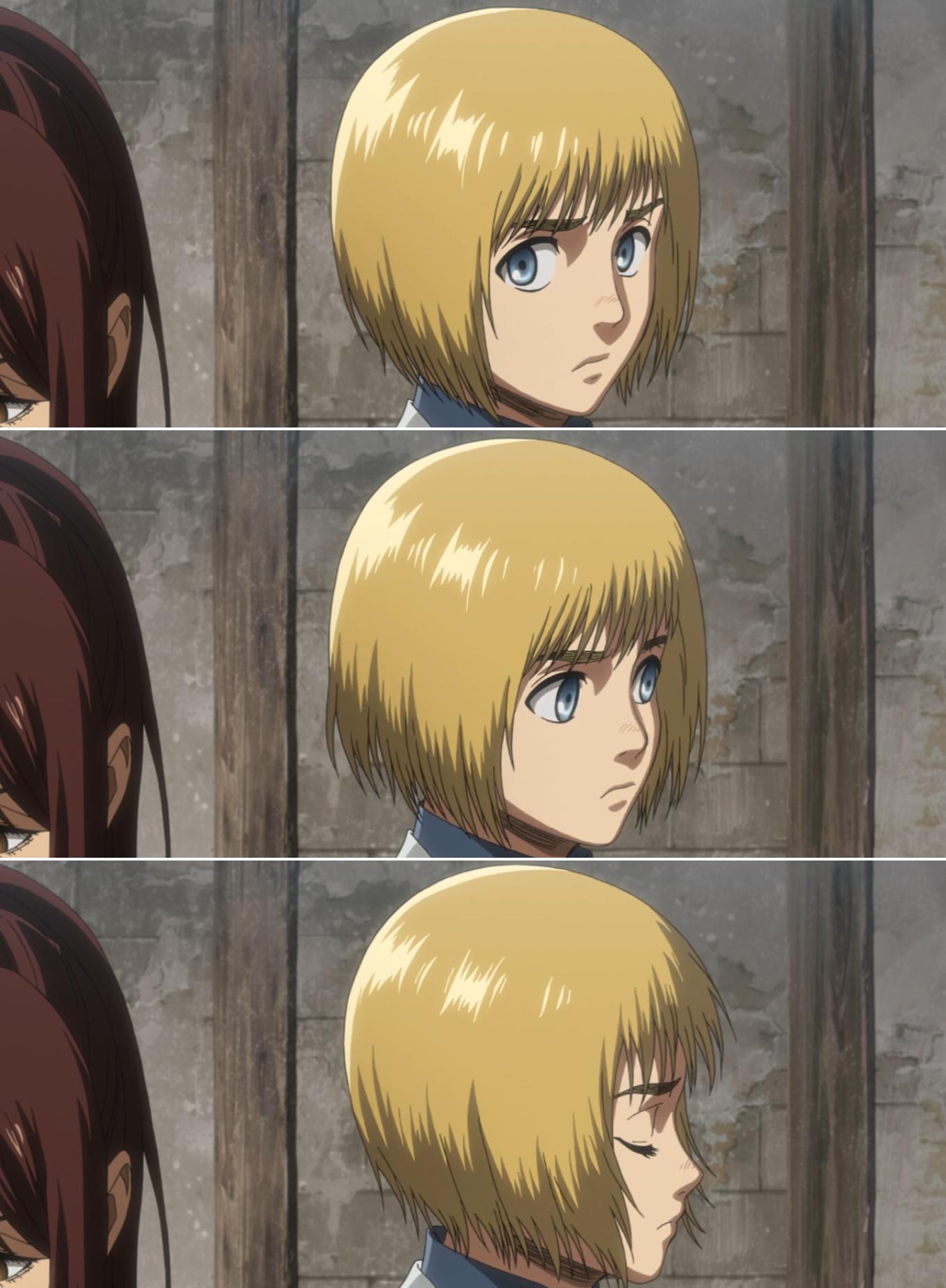 Armin Arlert He Is So Cute Aot Armin Anime Attack On