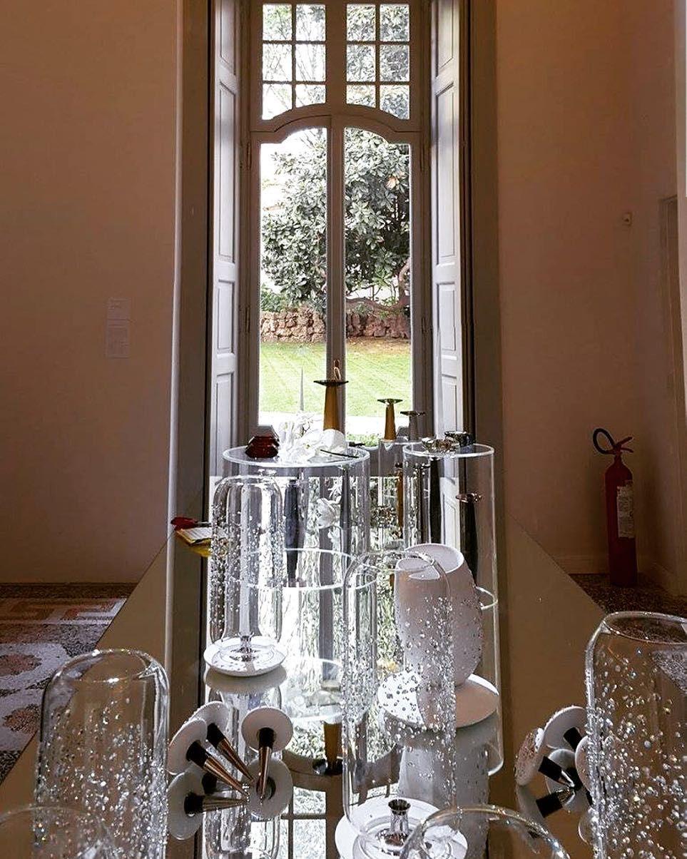 Remembering #fuorisalone2016 Piuarch for #atelierswarovski Home new #collection during #milandesignweek in spazio radetzky #fuorisalone2016 #swarovski #mirror #reflection #crystals #glass #fashion #interiors #architecture #allestimento #milanodavedere #instagramers #Mdw2016 #igersmilano by piuarch