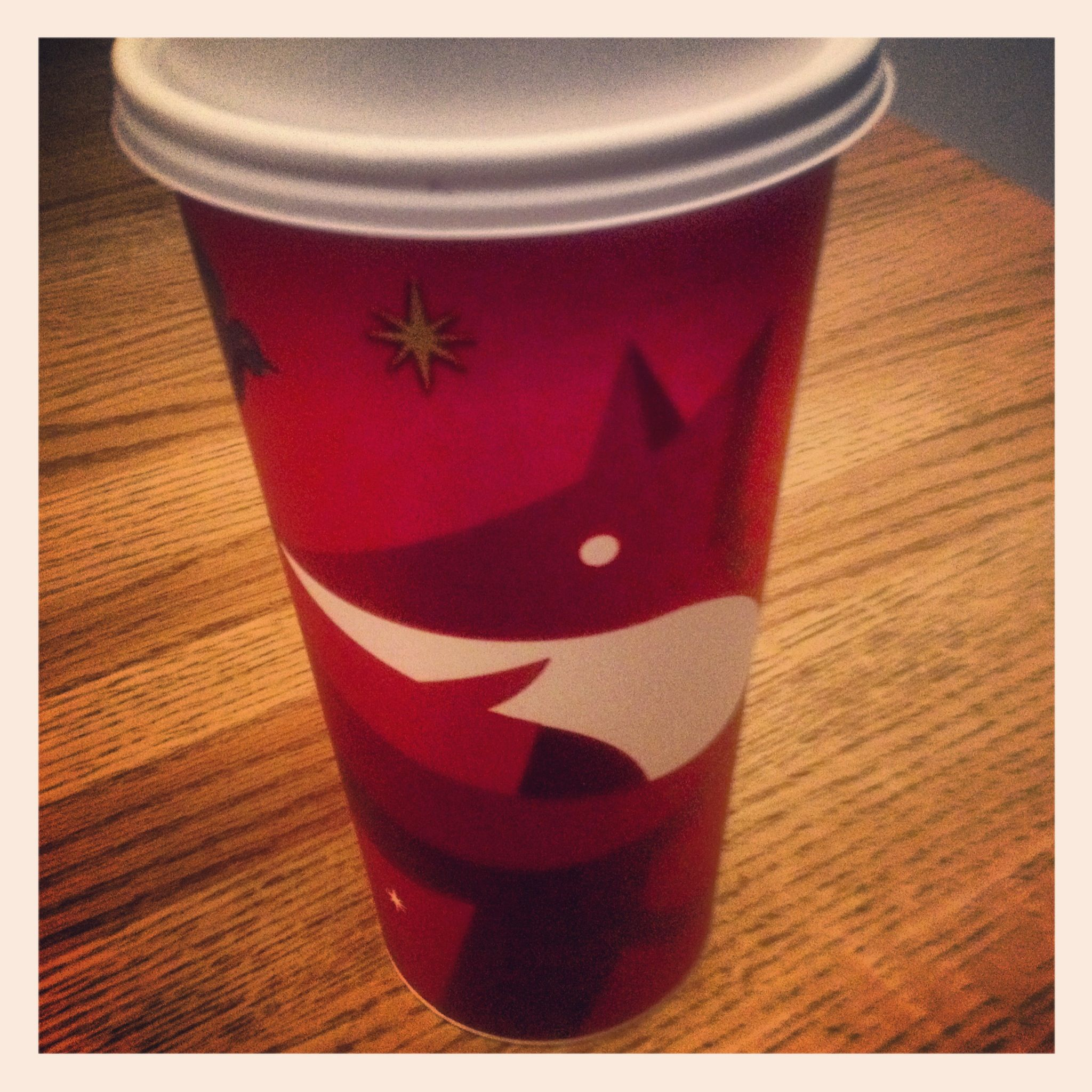 2012 Starbucks Holiday Cup - 11/7/2012