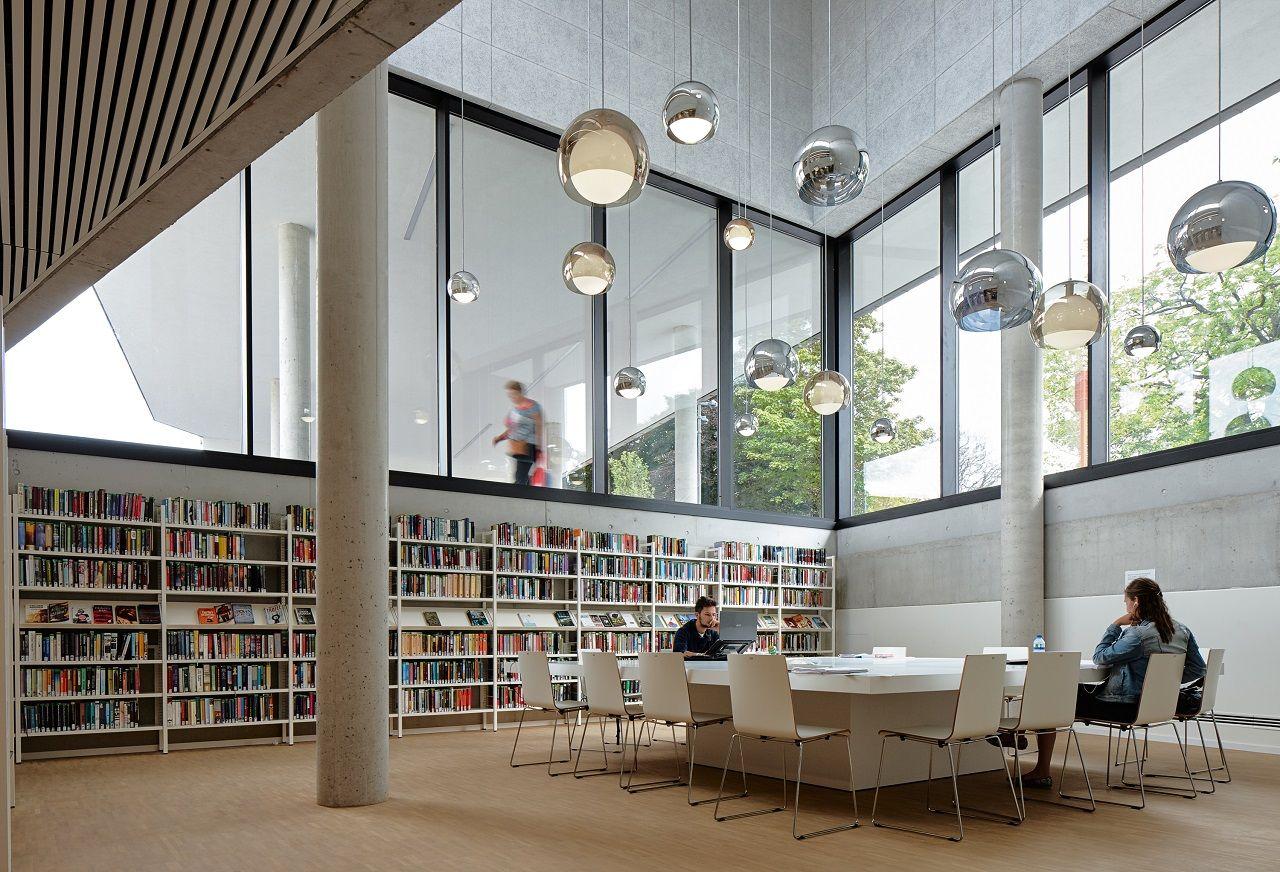 Bibliotheek Zaventem Ebtca Architecten Ism Archiles Architecten Fotografie  Dennis De Smet