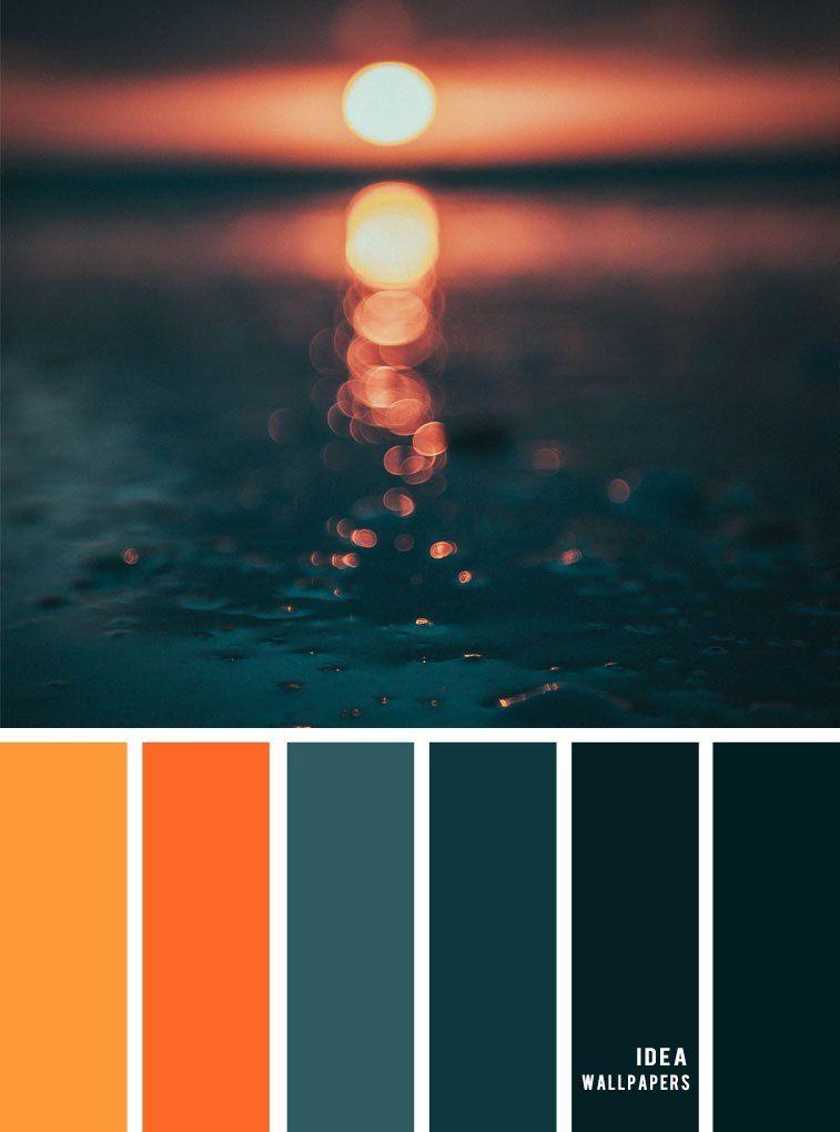 12 Beautiful Blue Teal Color Combos Burnt Orange Dark Teal Autumn Color Palette Blue Teal Orange Color Palettes Teal Color Palette Dark Color Palette