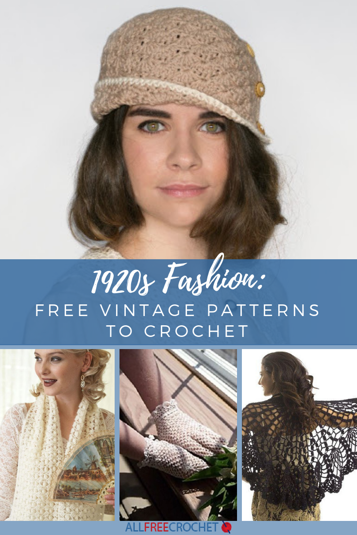 1920s Fashion 20 Free Vintage Patterns To Crochet Crochet