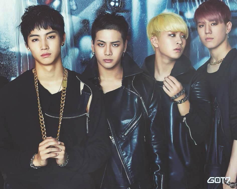 GOT7 JB, Jackson, Youngjae and Yugyeom