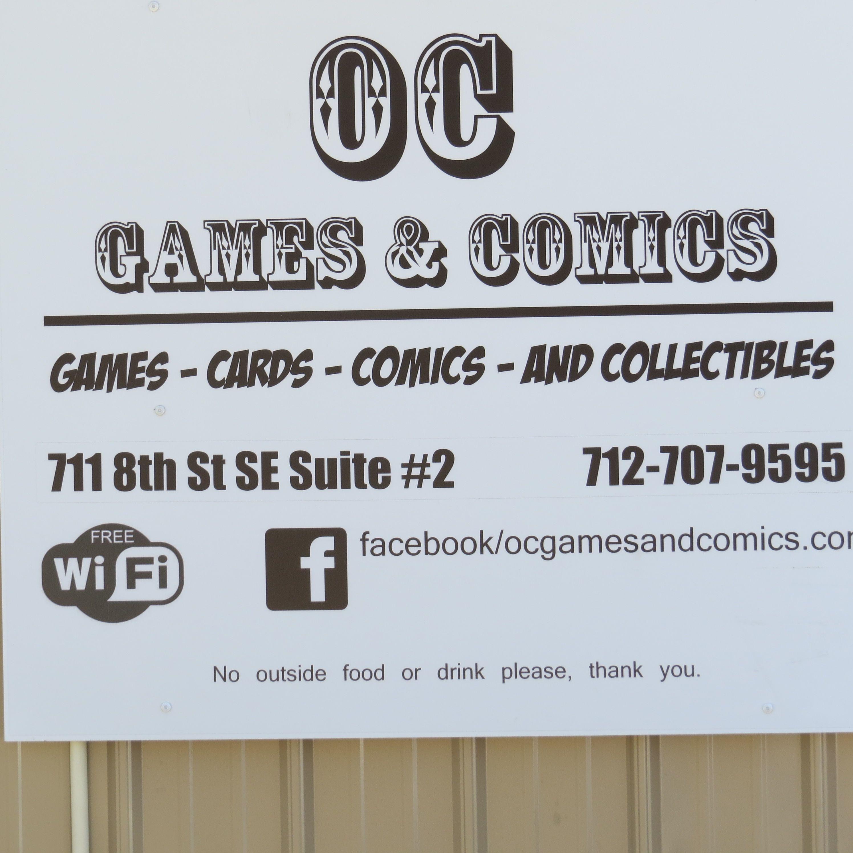 Oc Games And Comics Orange City Iowa Orange City Iowa Orange
