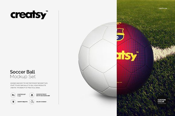 Download Soccer Ball Mockup Set Soccer Ball Soccer Mockup Design