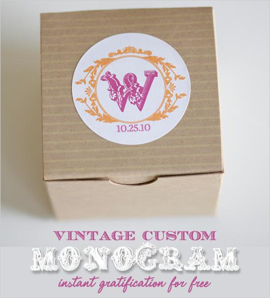 Free, Free Monogram, Free Printable, Vintage Monogram, Monogram, Custom Download, Download, Vintage, $0