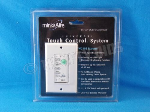 Minka Aire Universal Touch Control System Wc103 Minkaaire New Old Stock Freeship Touch Control Control System System Minka aire wall controls