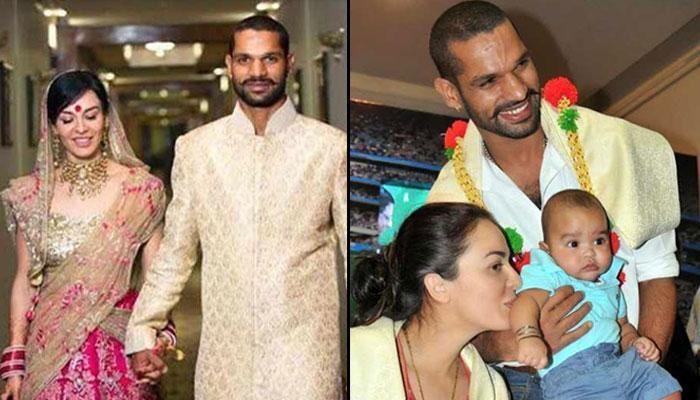 Pin By Ayesha Imran On New Arrival: Huge Age Gap, A Broken Marriage, 2 Kids: Shikhar Dhawan