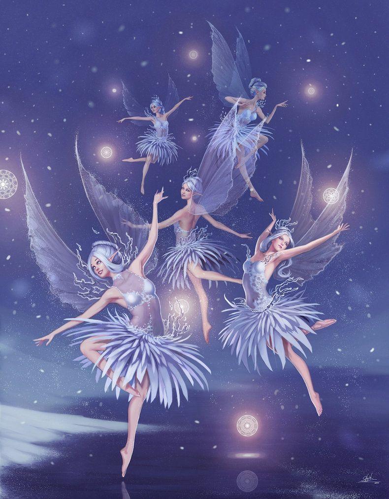 Танец фей в картинках