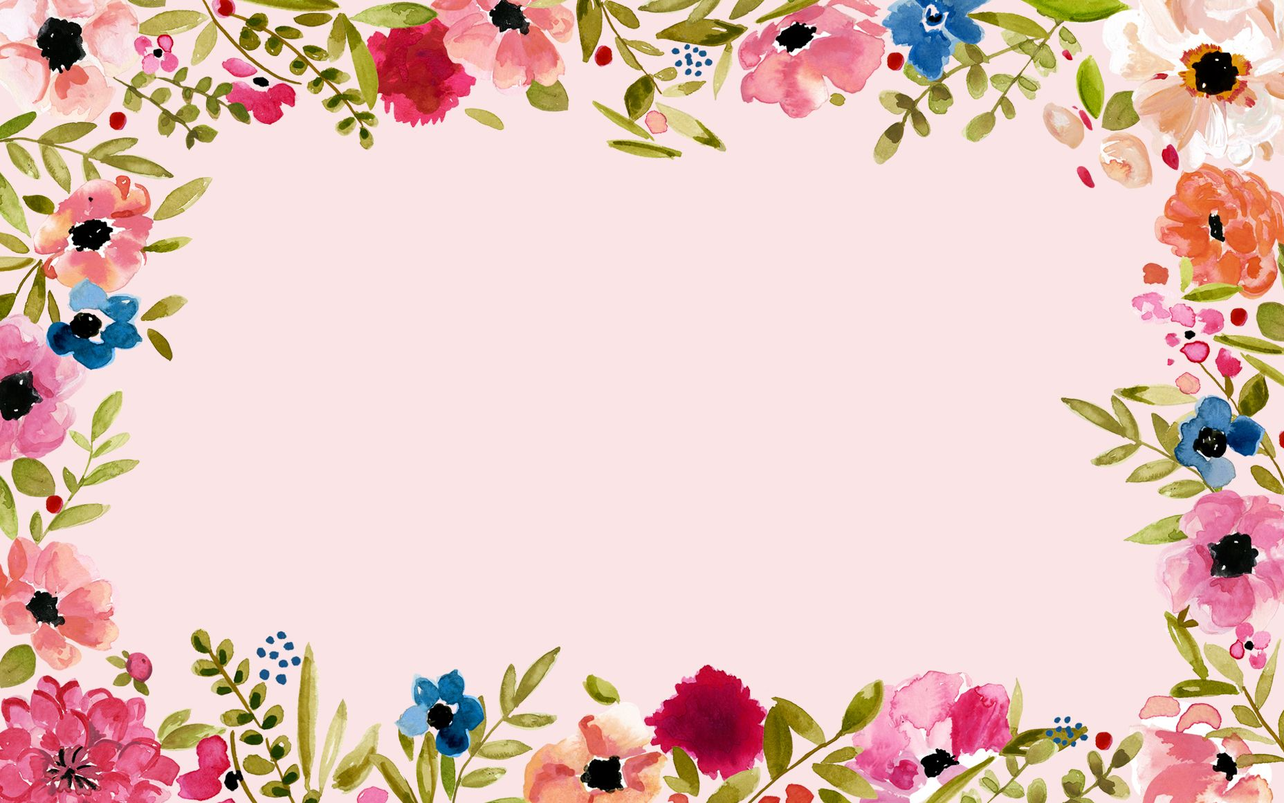 Floral Desktop Wallpaper 1920x1080