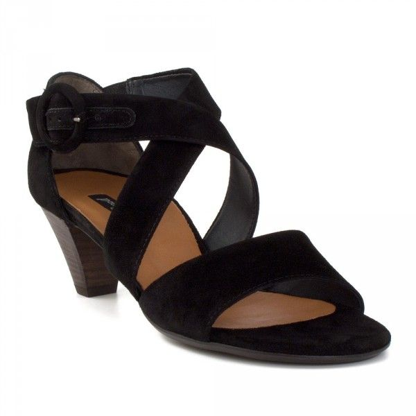 Crossover Sandal by Paul Green comfy chic kitten heel