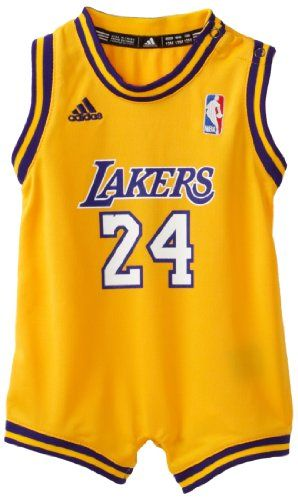 4fe19055b28 NBA Infant Los Angeles Lakers Kobe Bryant Home Onesie Jersey - R22Uqkka  (Gold