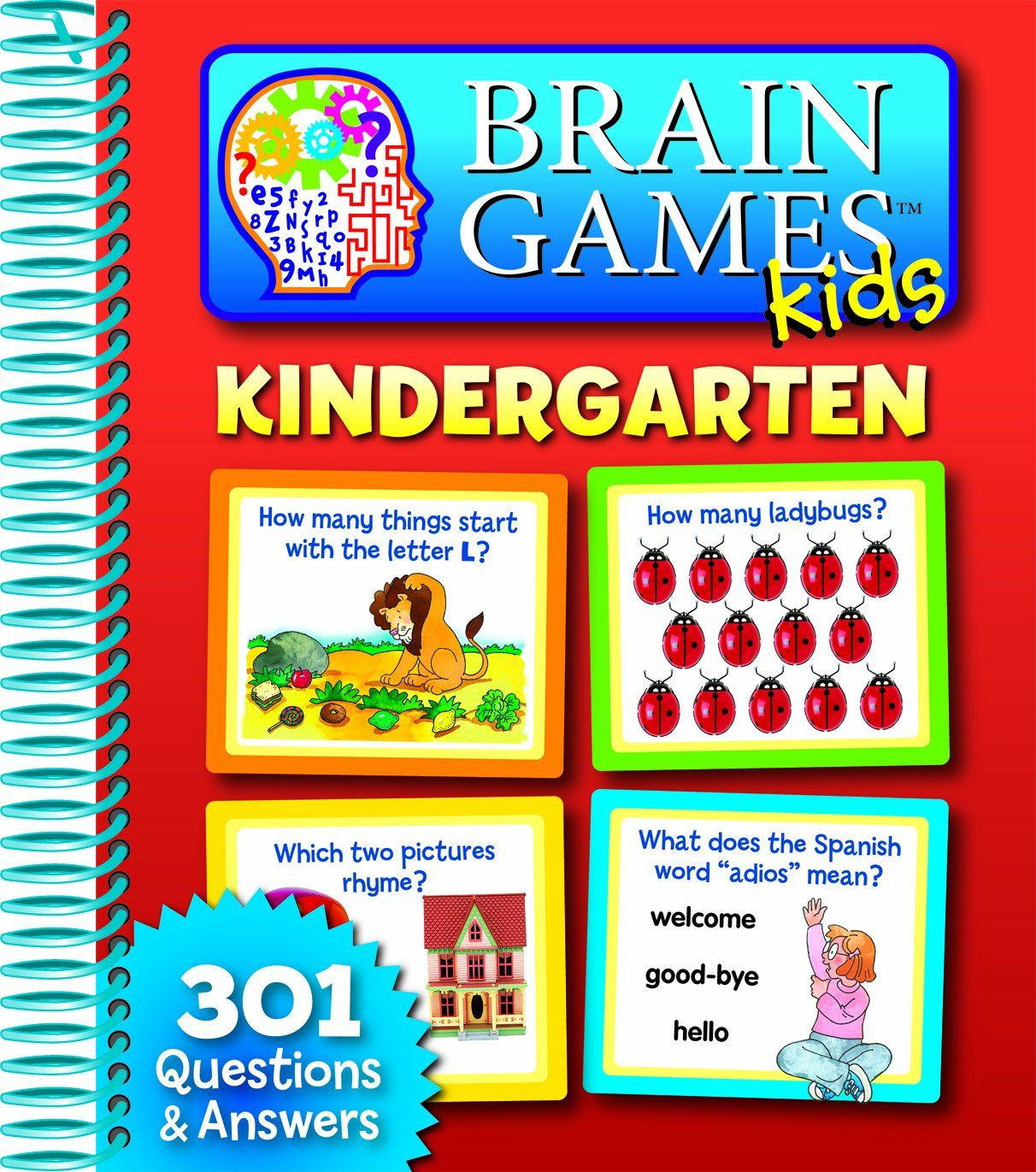 Brain Games Kids: Kindergarten Price:$9.17 | childhood book ...