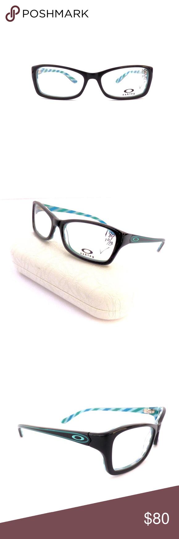 100% Authentic Oakley Black Cosmo Eyeglasses