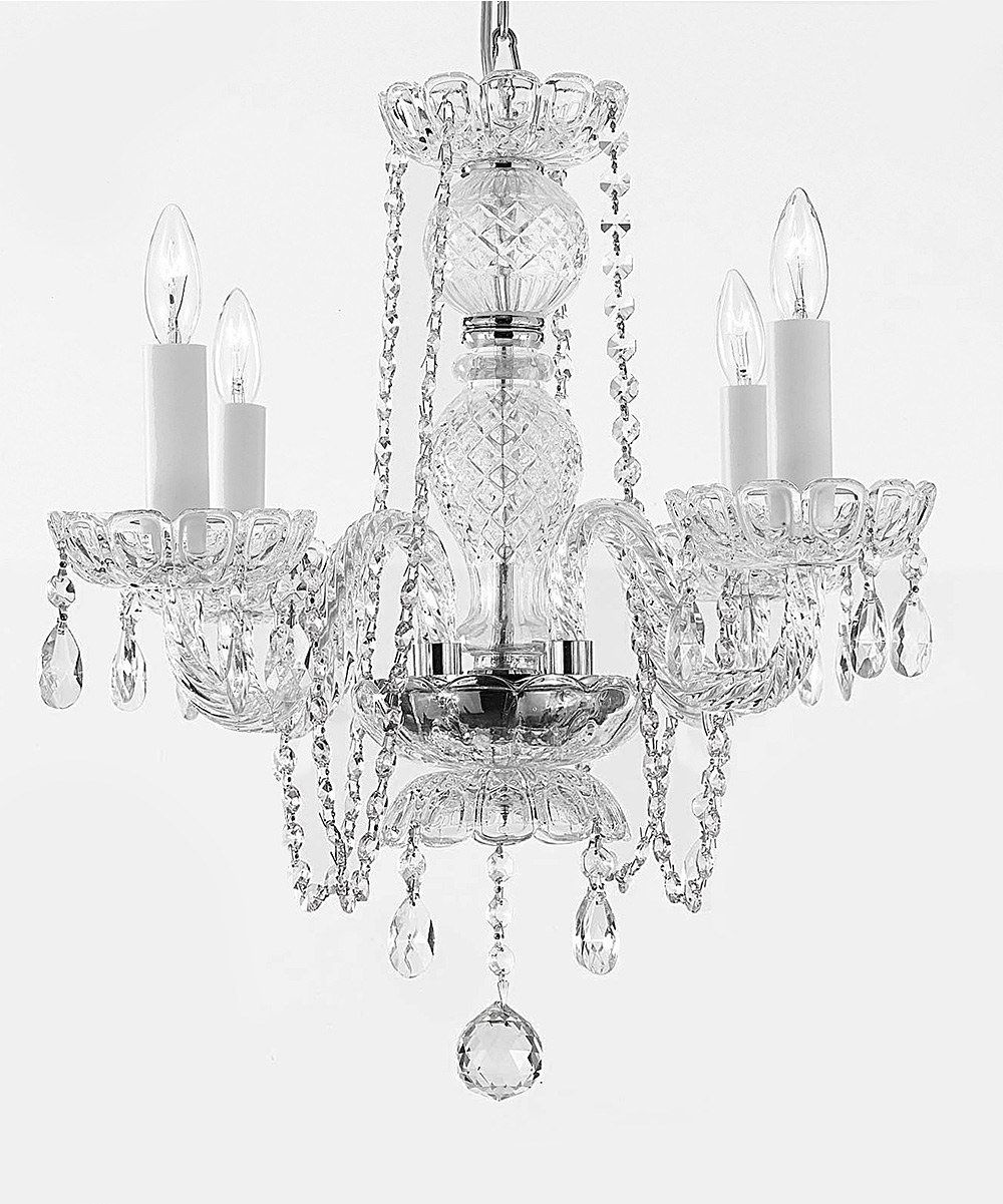 Another great find on zulily gallery 17 all crystal chandelier crystal chandelier chandeliers lighting with pink color crystal arubaitofo Choice Image