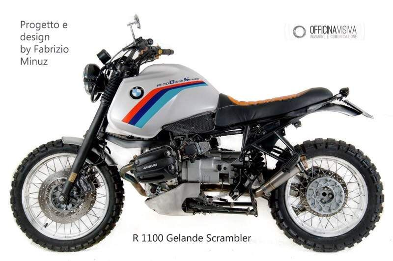 Bmw R 1100 Gs Abs Scrambler Special Cafe Racer Custom Motorcycles