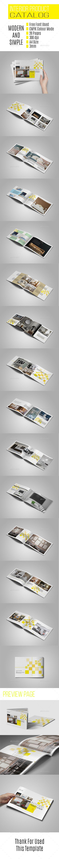 Multipurpose Interior Catalog Template | Catálogo