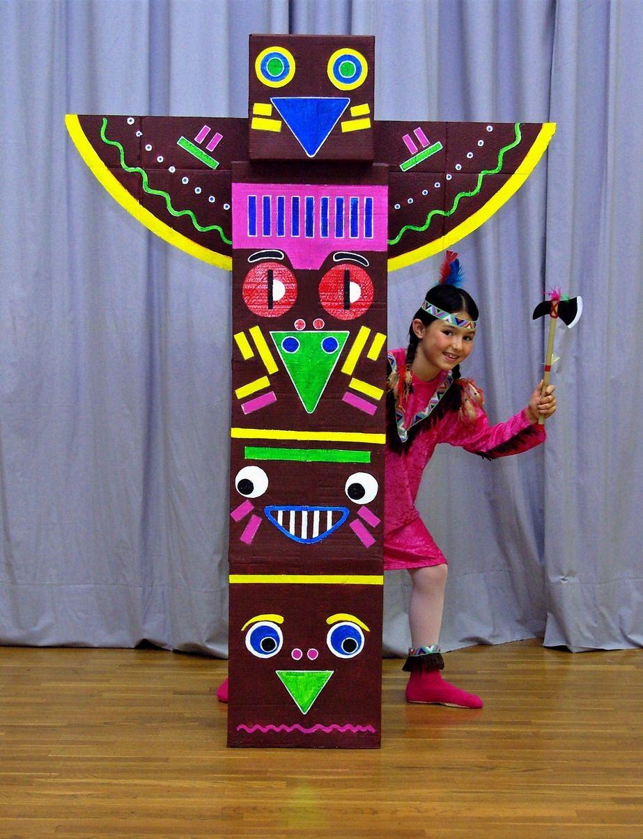 totem earth day  Cerca con Google  ∞ Ecole ∞  Pinterest  ~ Fabriquer Un Totem En Bois