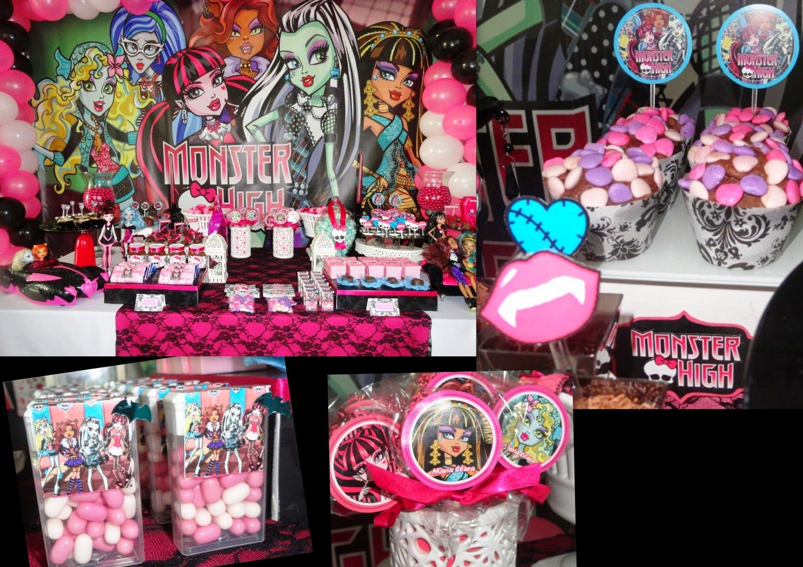 Free cute printables for a monster high party | Entertaining ...