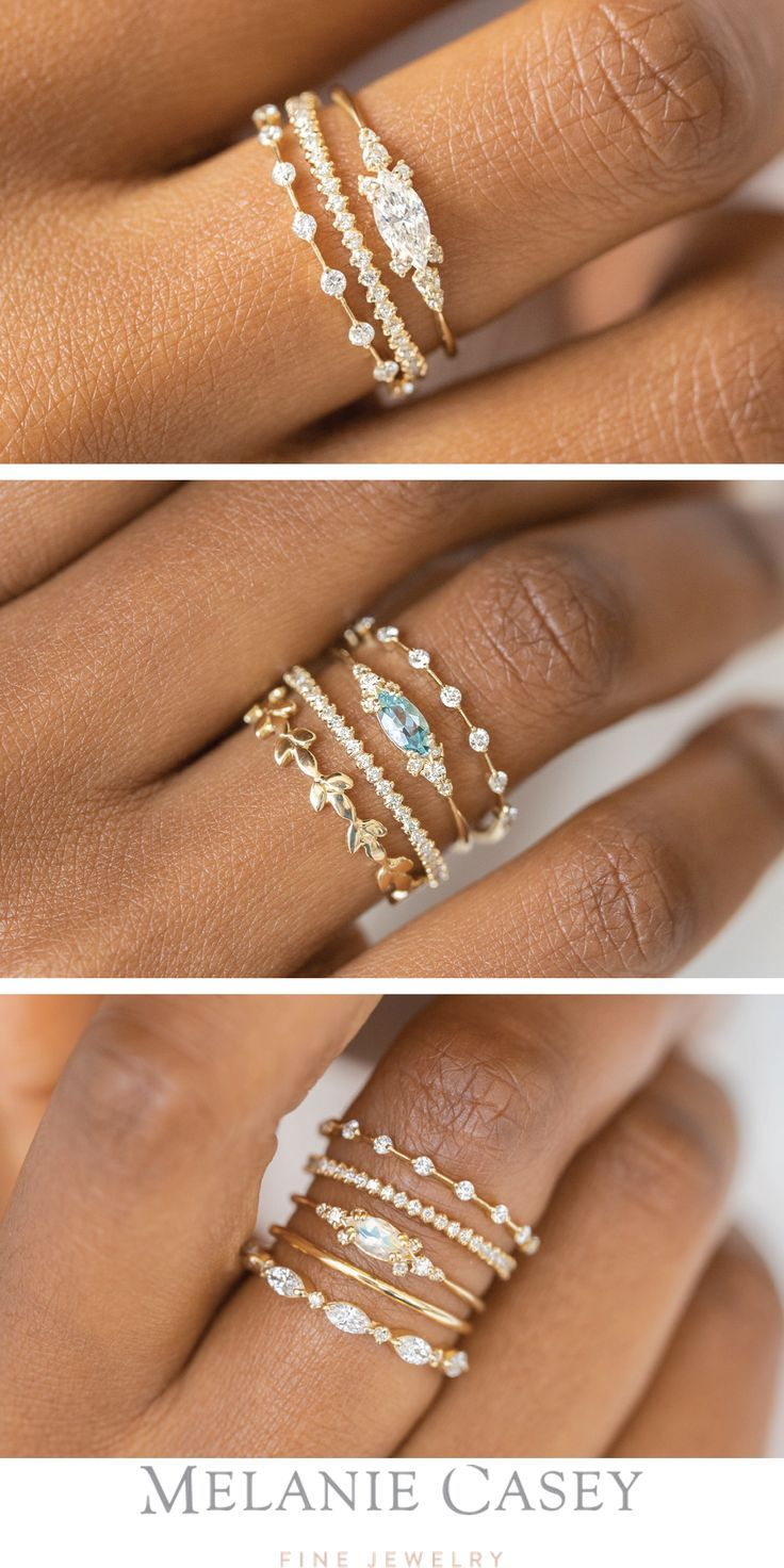 The Eyelet Rings have a silhouette that is perfect for