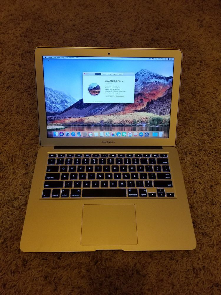 Apple Macbook Air 2017 Intel Core I5 1 8ghz 8gb Ram 128gb Ssd 13 3