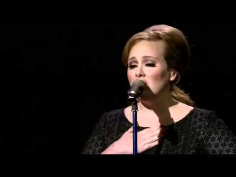 Adele Performing I Cant Make You Love Me A Cover Of The Bonnie