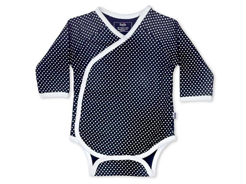Navy Kimono Onesie - Shaksuka