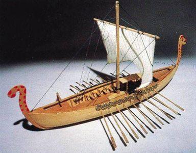 How to Make Toy Viking Long Boats thumbnail