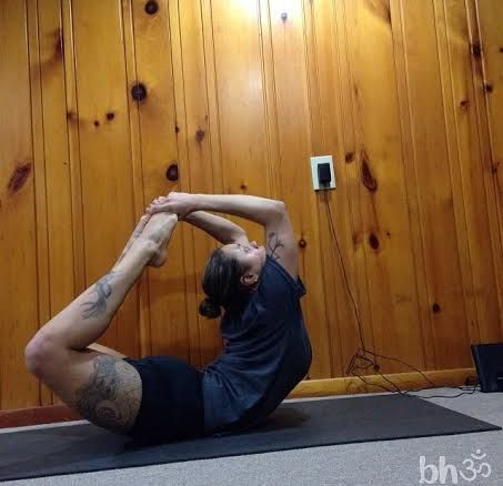 week 81 bow pose dhanurasana round 2 » yoga pose weekly
