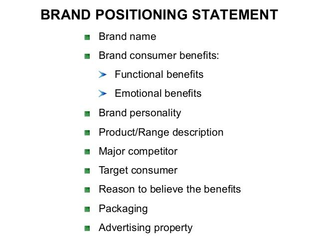 Sample Brand Positioning Statement  Google Search  Brands