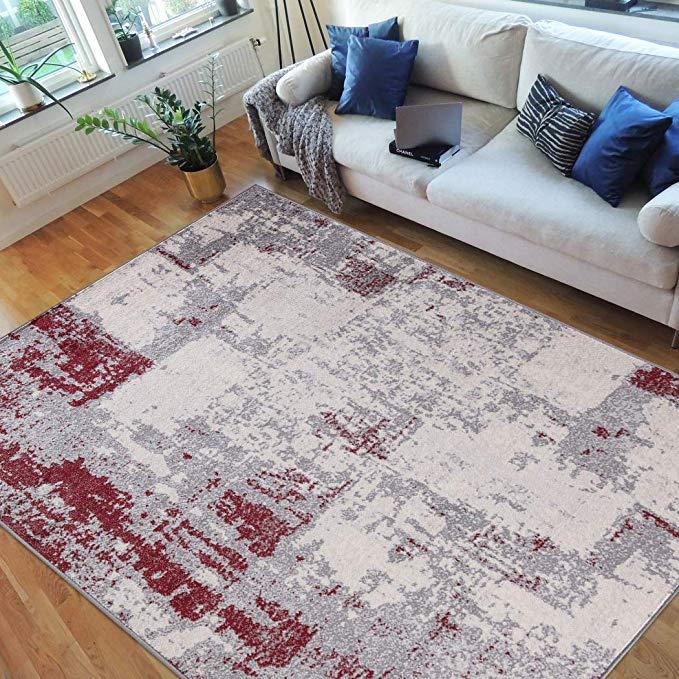 Hr Abstract Rugs Luxury Livingroom Carpet Modern Contemporary