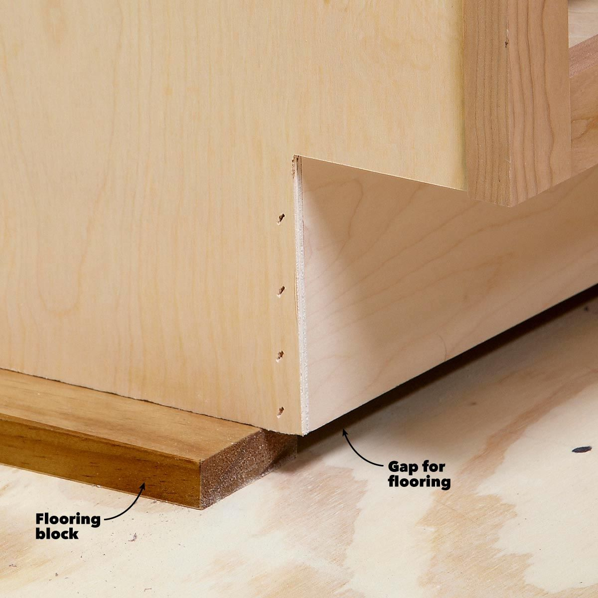 How To Install Cabinets Like A Pro The Family Handyman Diy Kitchen Renovation Installing Cabinets Installing Kitchen Cabinets