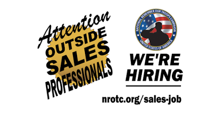 A GREAT OUTSIDE SALES JOB - We're looking for self-disciplined self-starters! Work within an exclusive territory calling on business owners soliciting donations to help support our charitable mission. Visit: http://www.nrotc.org/sales-job/  #OutsideSales #SalesJobs #SalesJob #Sales