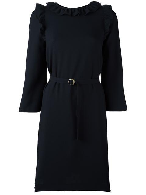 A.P.C. Frill Detail Belted Dress. #a.p.c. #cloth #dress