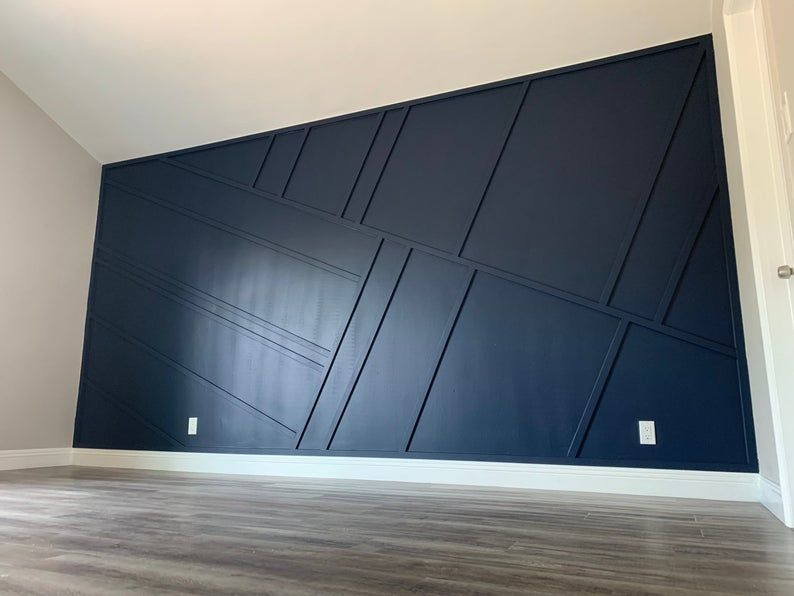 Custom Feature Wall Accent Wall Accent Walls In Living Room Dining Room Accents Accent Wall Bedroom
