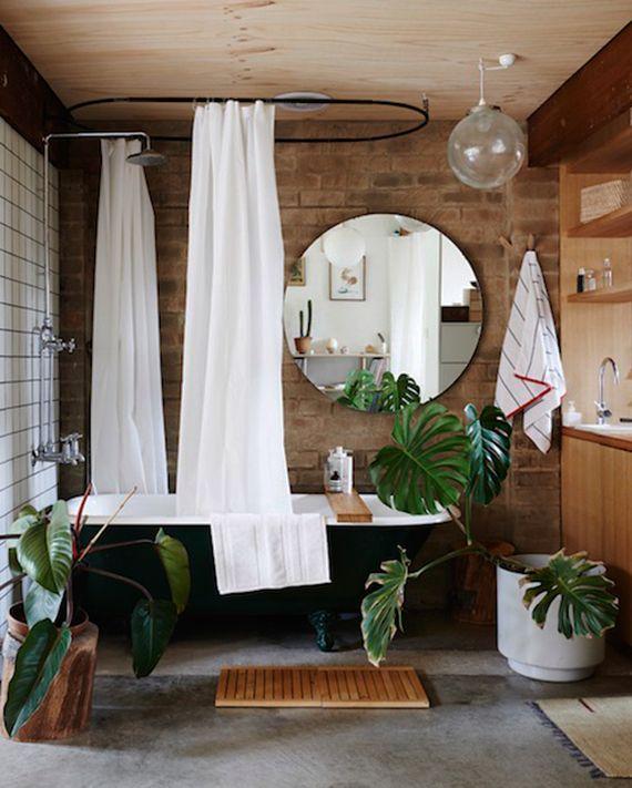 eine entspannende badezimmergestaltung mit pflanzen f rs bad wundersch ne wohntr ume. Black Bedroom Furniture Sets. Home Design Ideas