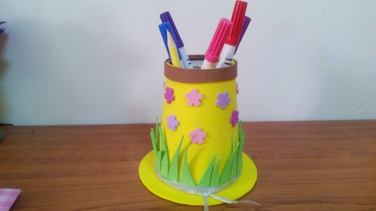 Creative Ideas How To Make A Hat Pencil Case For Kids