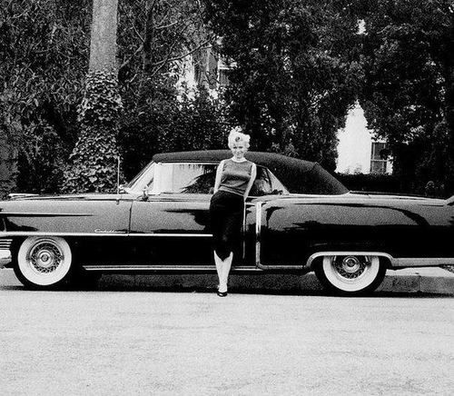 Imagen de Marilyn Monroe, vintage, and black and white