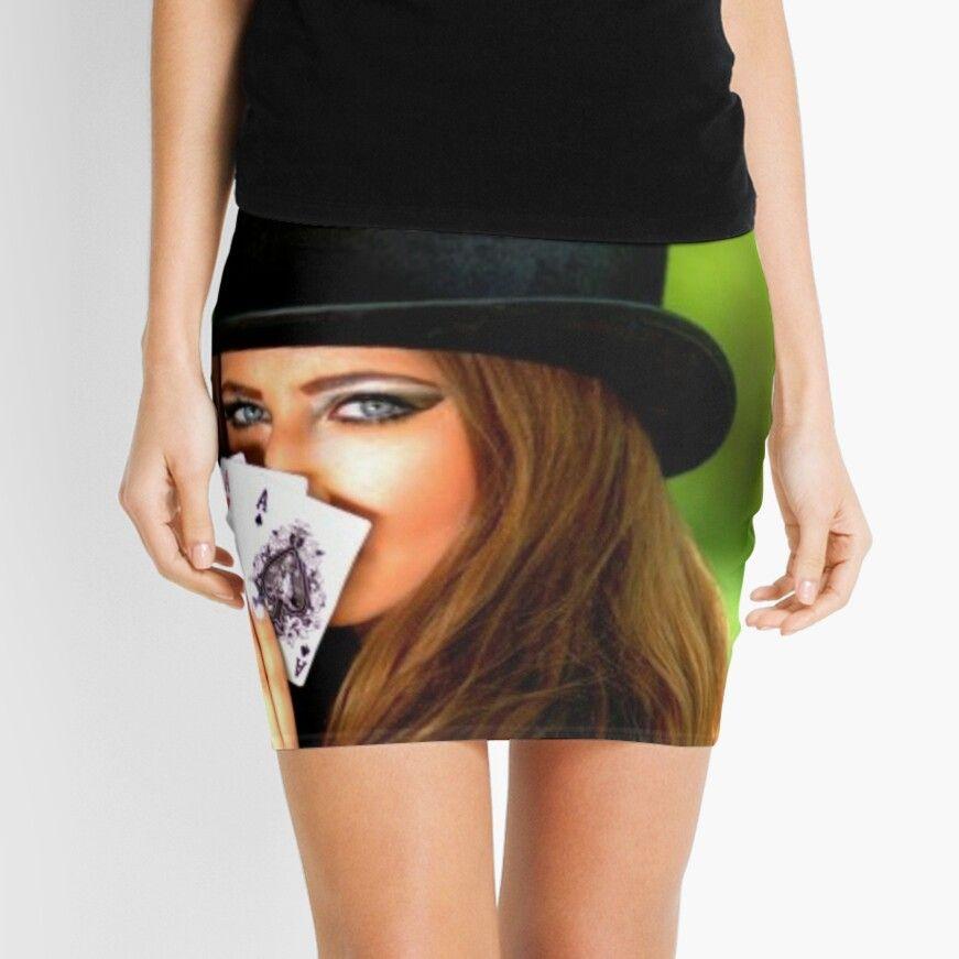 Lady Luck Poker Texas Holdem Mini Skirt By Steelpaulo Texas Holdem Lady Poker