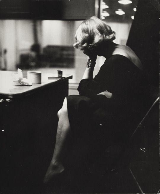 by Eve Arnold / Marlène Dietrich, New York, 1952