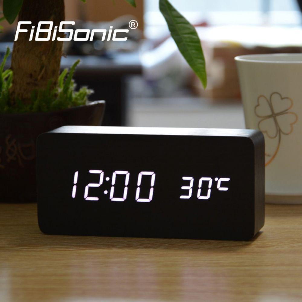 Fibisonic Upgrade Led Alarm Clocks