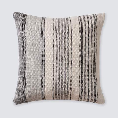 Semaine Mud Cloth Pillow in Olive | Modern Throw Pillows