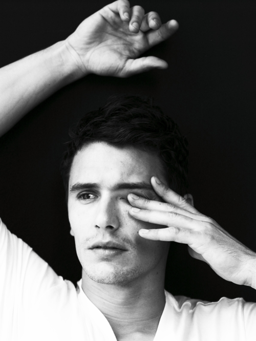 James Franco * Stop picking at your eye, James.  You're ruining the picture.