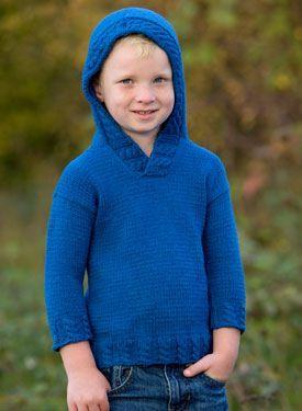 5742fb27d75e Blue Jean Child Hoodie - Knitting Patterns by Lee Gant - i m ...