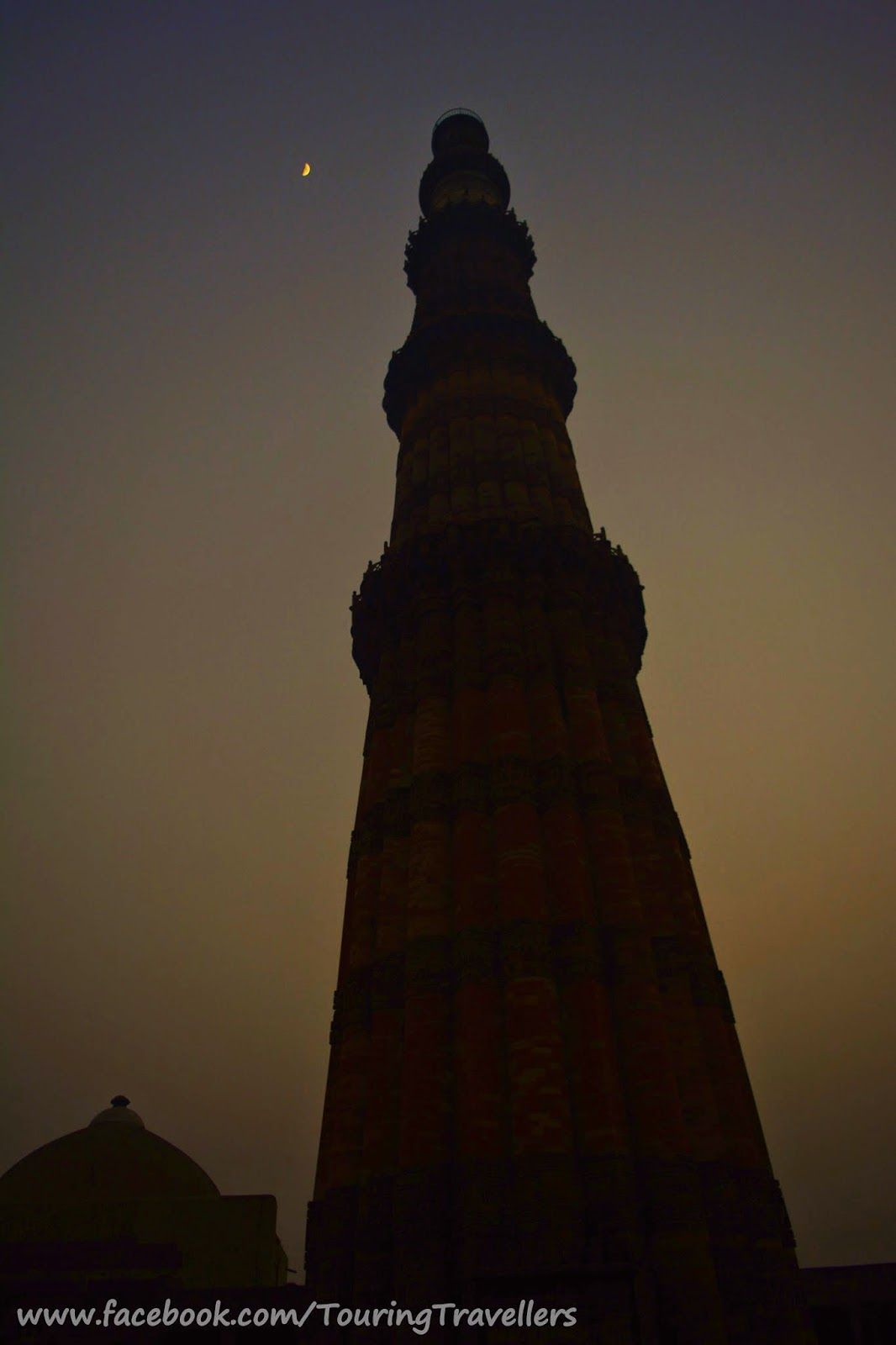 One of my favorite clicks..:) #QutubMinar #TouringTravellers