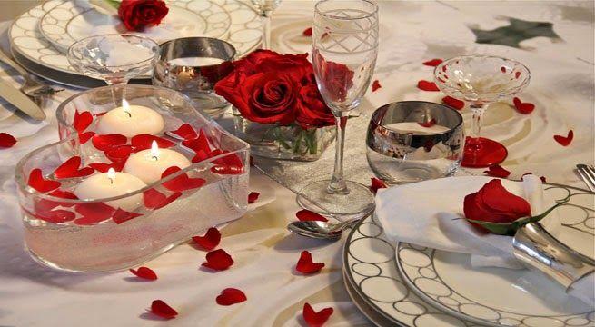 Imagenes para decorar camas y mesas romanticas en san - Noche romantica en casa ideas ...