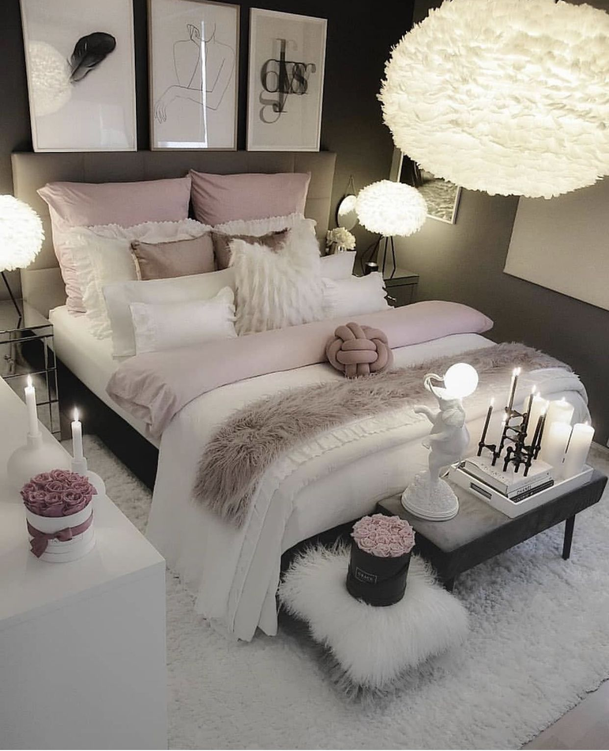 Pin By Callie Alex On Master Bedroom Girl Bedroom Decor Bedroom