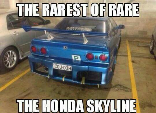 Honda Skyline Rice Car Memes Cars Cars Motorcycles Car Memes