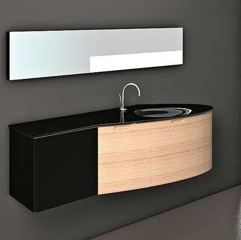 Modern Wall-Mounted Bathroom Vanity Cabinets Bathroom Pinterest